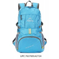 Venture Pal Lightweight Durable Hiking Camping backpack(Blue)