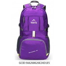 Venture Pal Lightweight Durable Hiking Camping backpack(Purple)